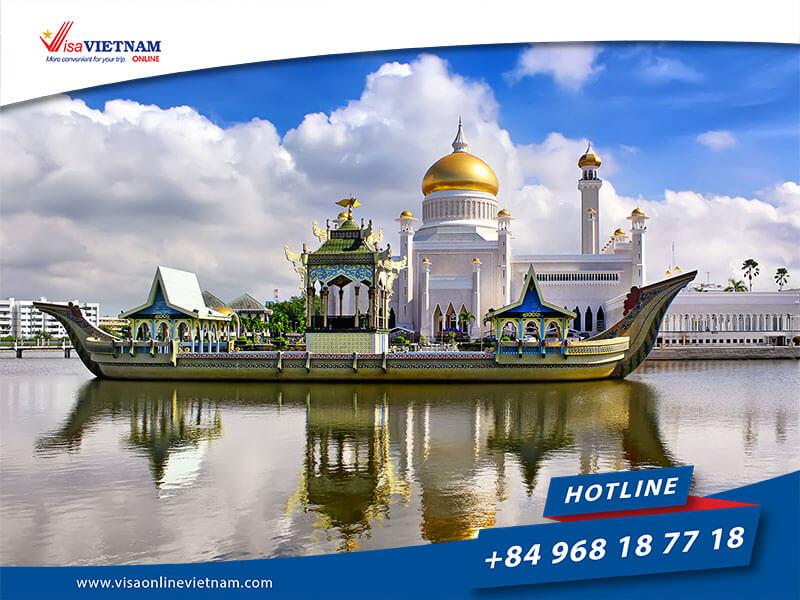 Best way to get Vietnam visa on arrival from Brunei