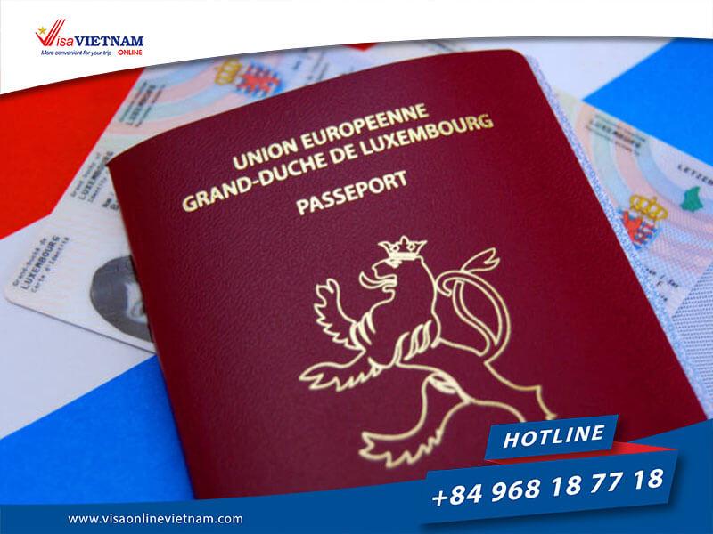 Vietnam visa on arrival from Luxembourg - Vietnam Visa zu Lëtzebuerg
