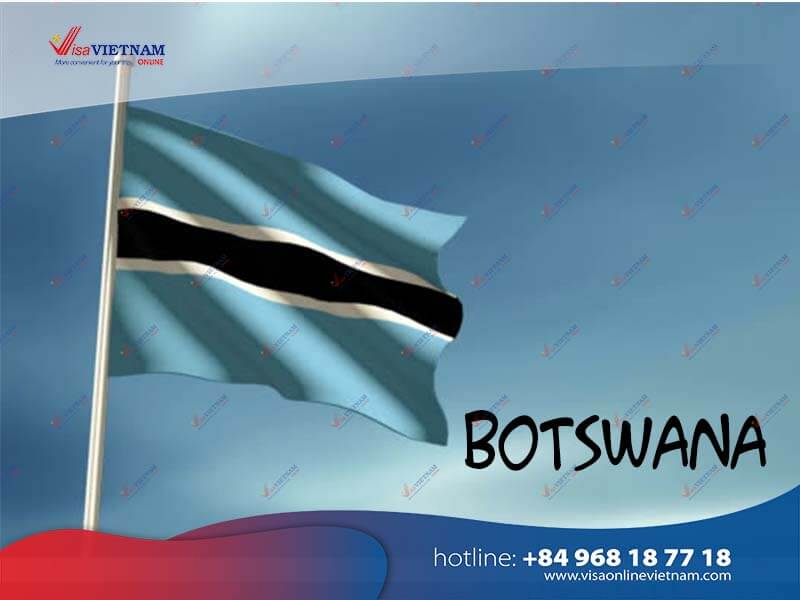 How many ways to get Vietnam visa from Botswana?