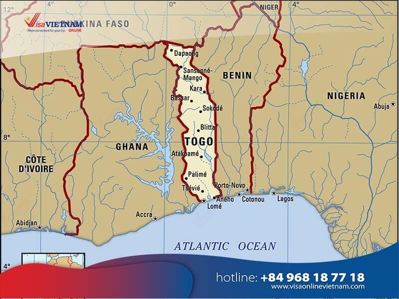 How to get Vietnam visa from Togo? - Visa vietnamien au Togo